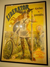 The bicycle brings liberation