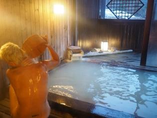 The obligator onsen pre-wash. #protocols