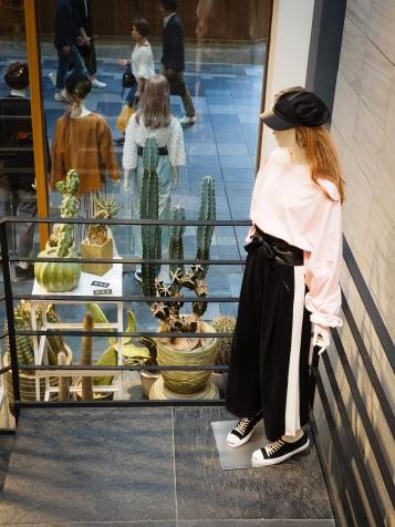 Clothing store, Japanese modern style