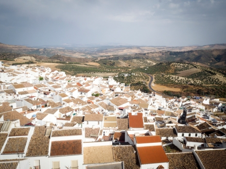 View from the castle. Olvera, Spain.